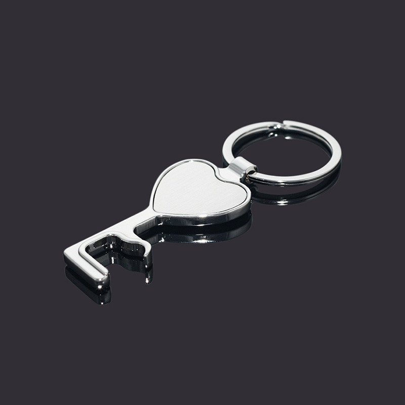 Heart Bottle Operner Cellphone Holder Keychains