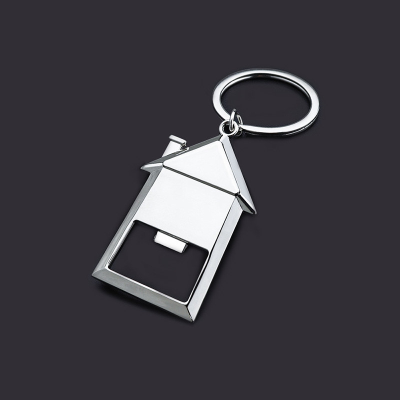 House bottle opener keychains