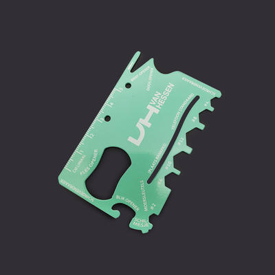 Full CMYK Printed Multifunction Tool Card Bottle Opener
