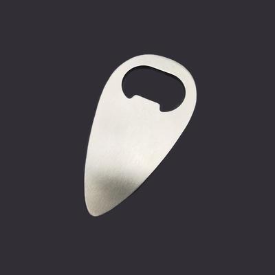 Drop Shaped Metal Bottle Opener