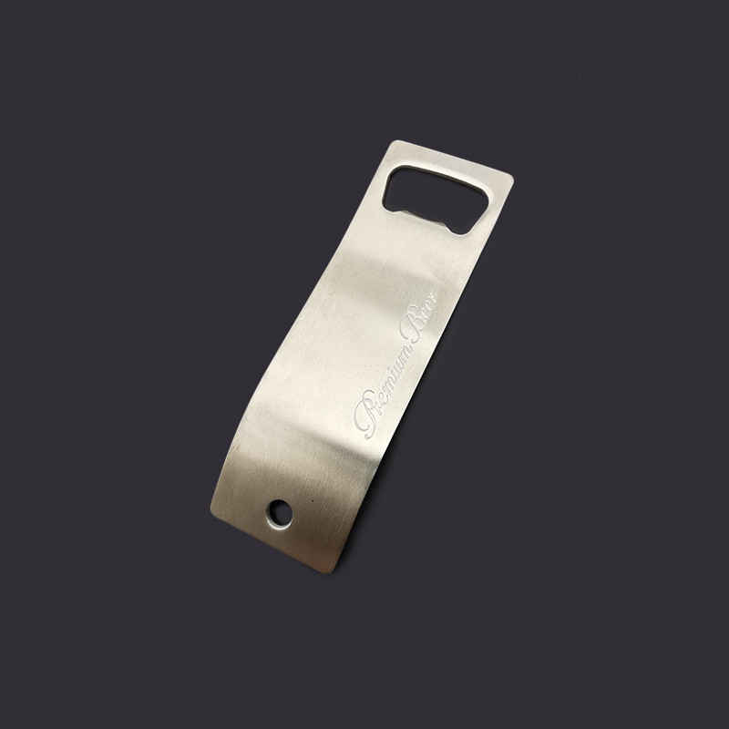Bulk bar custom engraved shape bottle opener