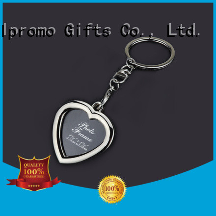 top quality personalised photo keyrings cost for promotion