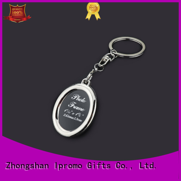 Ipromo antique personalised photo keyrings price for souvenir