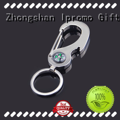 top quality compass keychains hook at discount for promotion