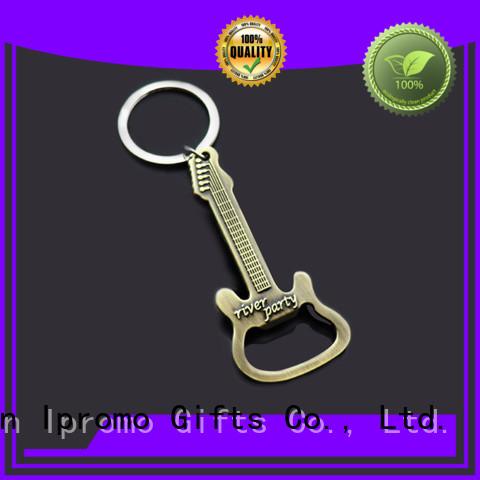 Ipromo metal custom beer opener keychains at discount for wedding