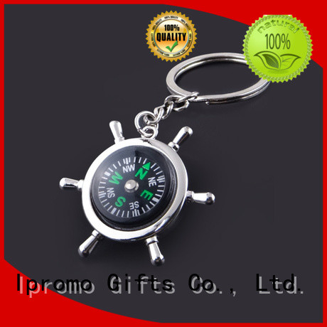 Ipromo cute compass keyring price for wedding