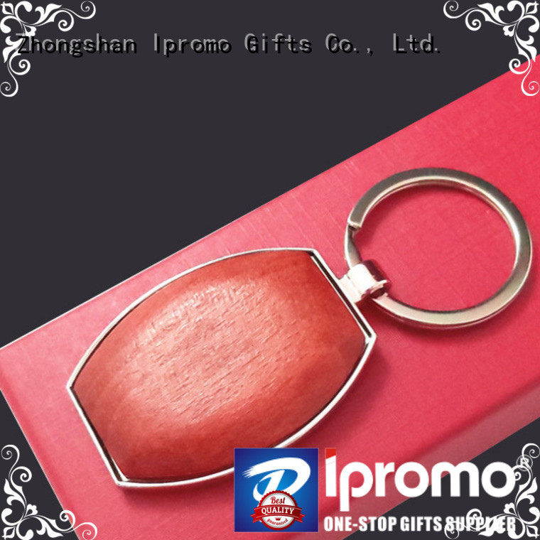 Ipromo wooden keychains type for event