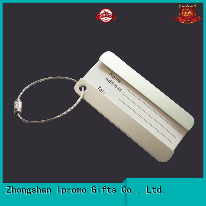 solid personalised luggage tags marketing for party