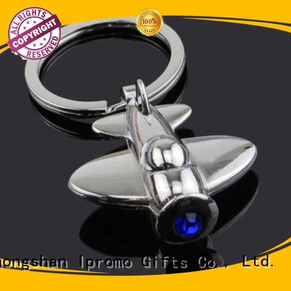 Ipromo top quality metal key ring low cost for party