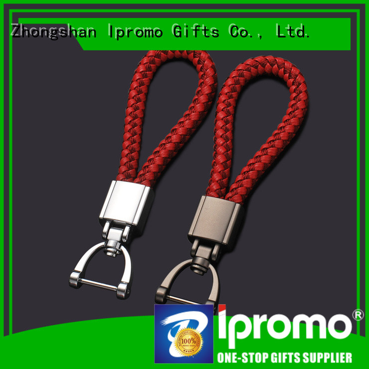 Ipromo classic western leather keychain various sizes for gifts