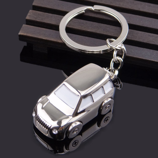 3D Mini Car Keychain for gifts and promotion