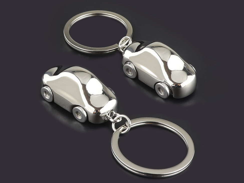 3D mini Car Keychains Supplier