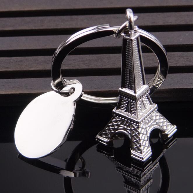 Metal Eiffel Tower Keychains
