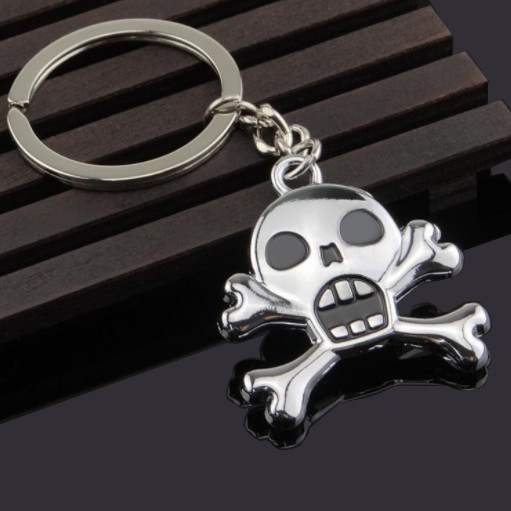 Metal Skull Keychains Holy Ghost Festival Gifts
