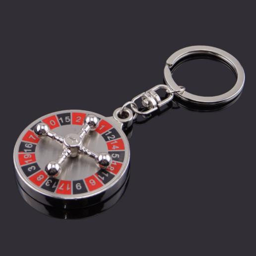 Lucky casino keychains