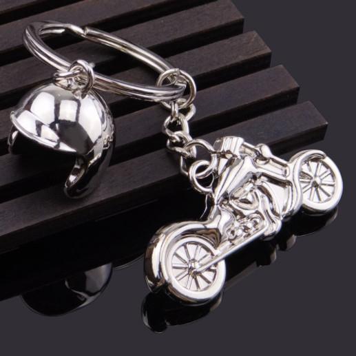 Motorcycle Helmet Keychains