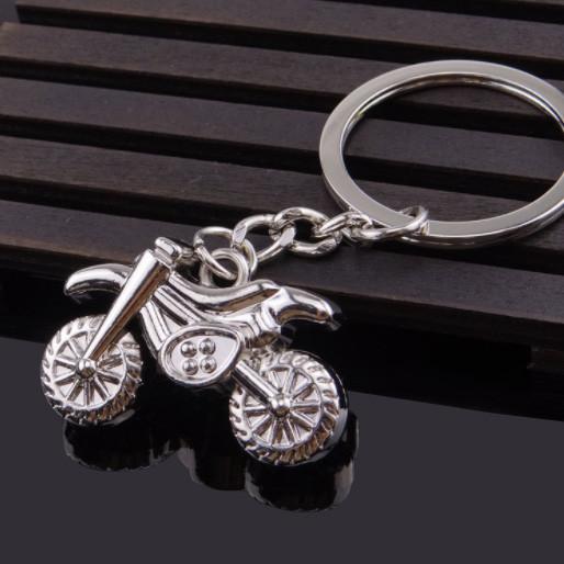 Motocycle metal keyrings