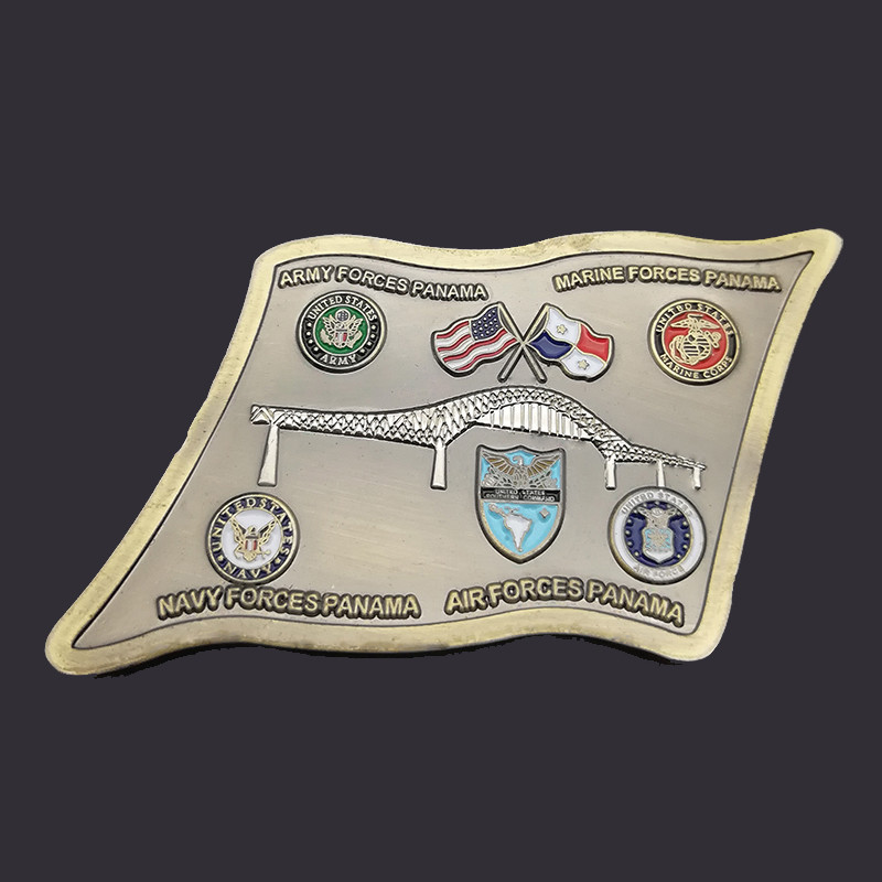 Fashion Design Souvenir Gift Chanllenge Coin Metal Silver