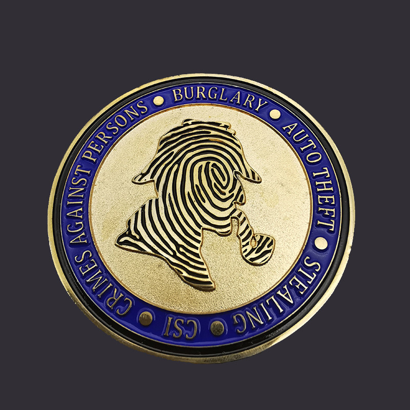 Custom souvenir soft enamel challenge coin