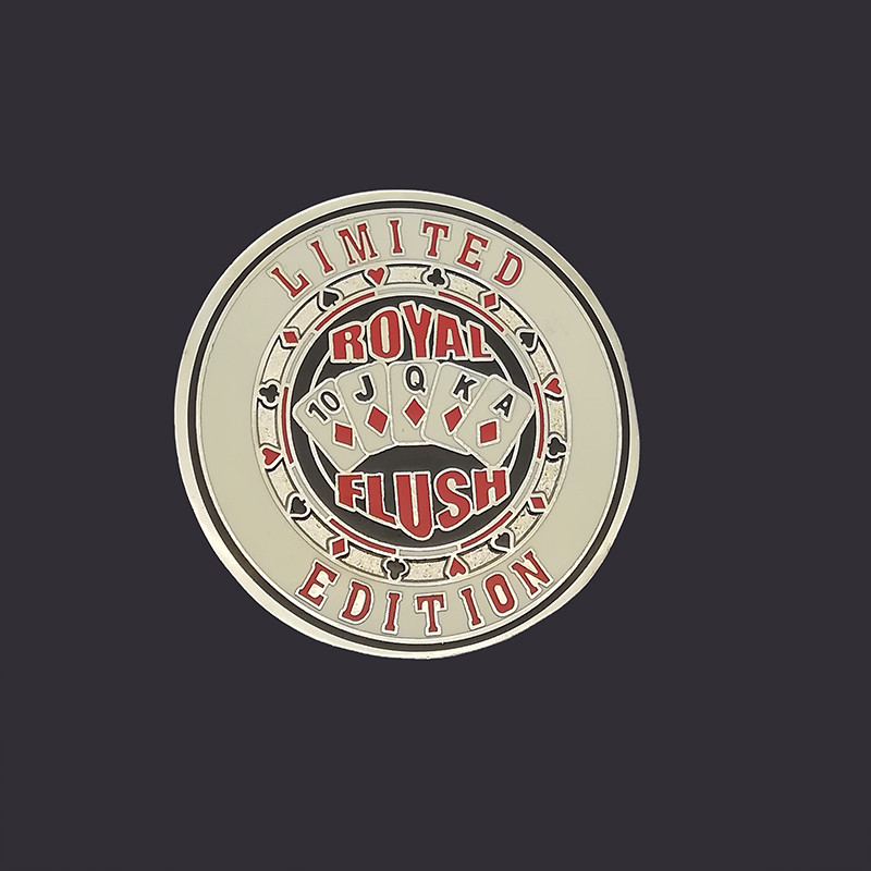 Crafts supplies two sides enamel challenge coin