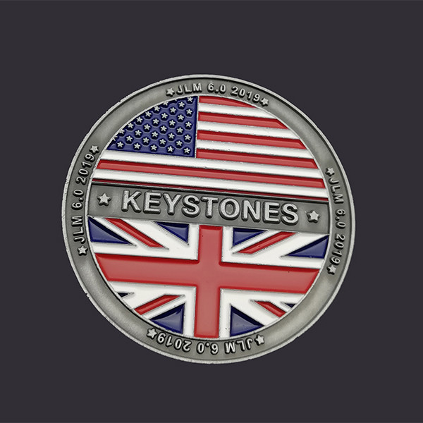 Factory Price Metal Copper Stamping Dies Custom Challenge Coins with Logo for Collectible and Souvenir
