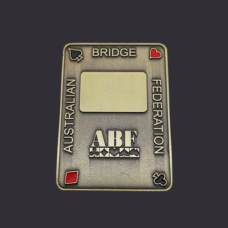 Poker coin metal challenge coin souvenir