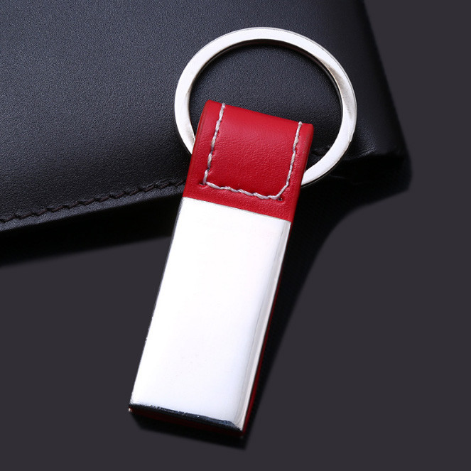 Popular leather keychain
