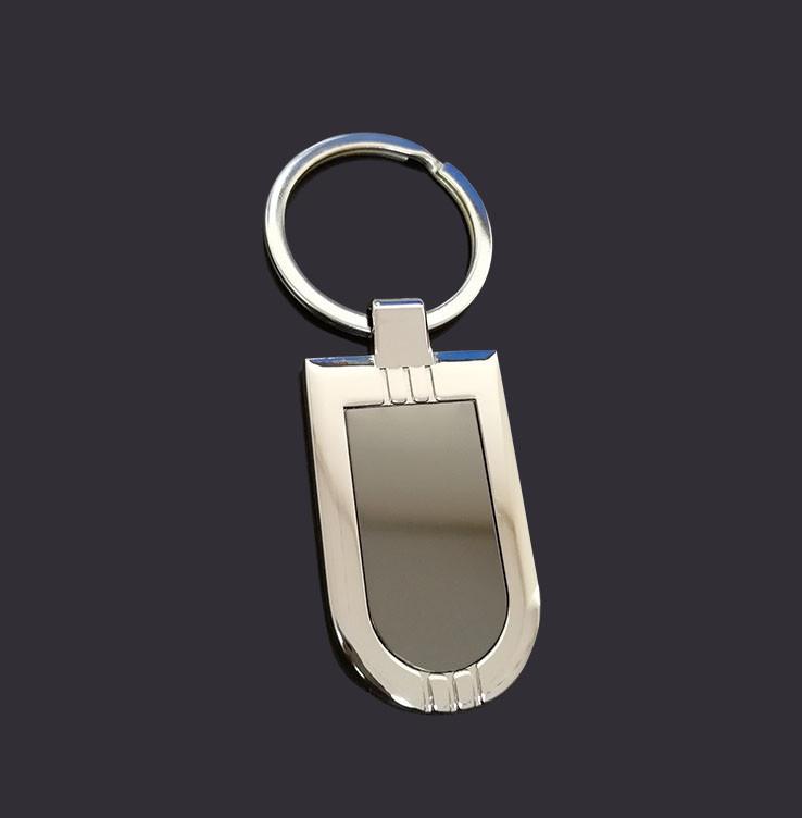 blank metal key tag custom logo key tag
