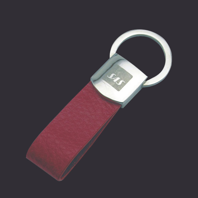 Popular Business Leather Keychain