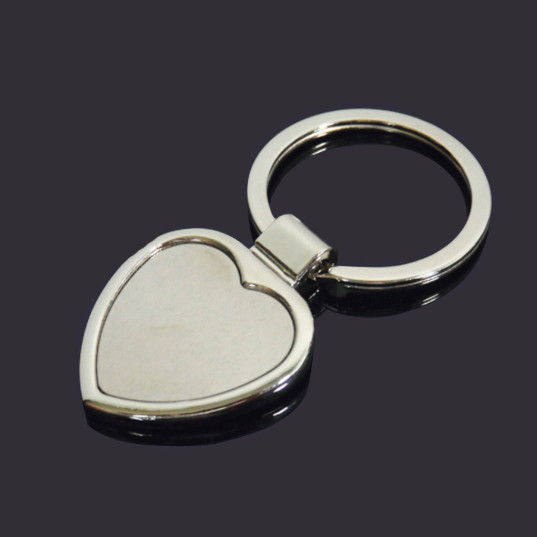 Hard shape blank keychain metal key tag