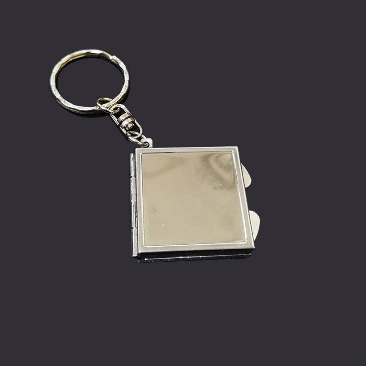 Metal Mirror keychain