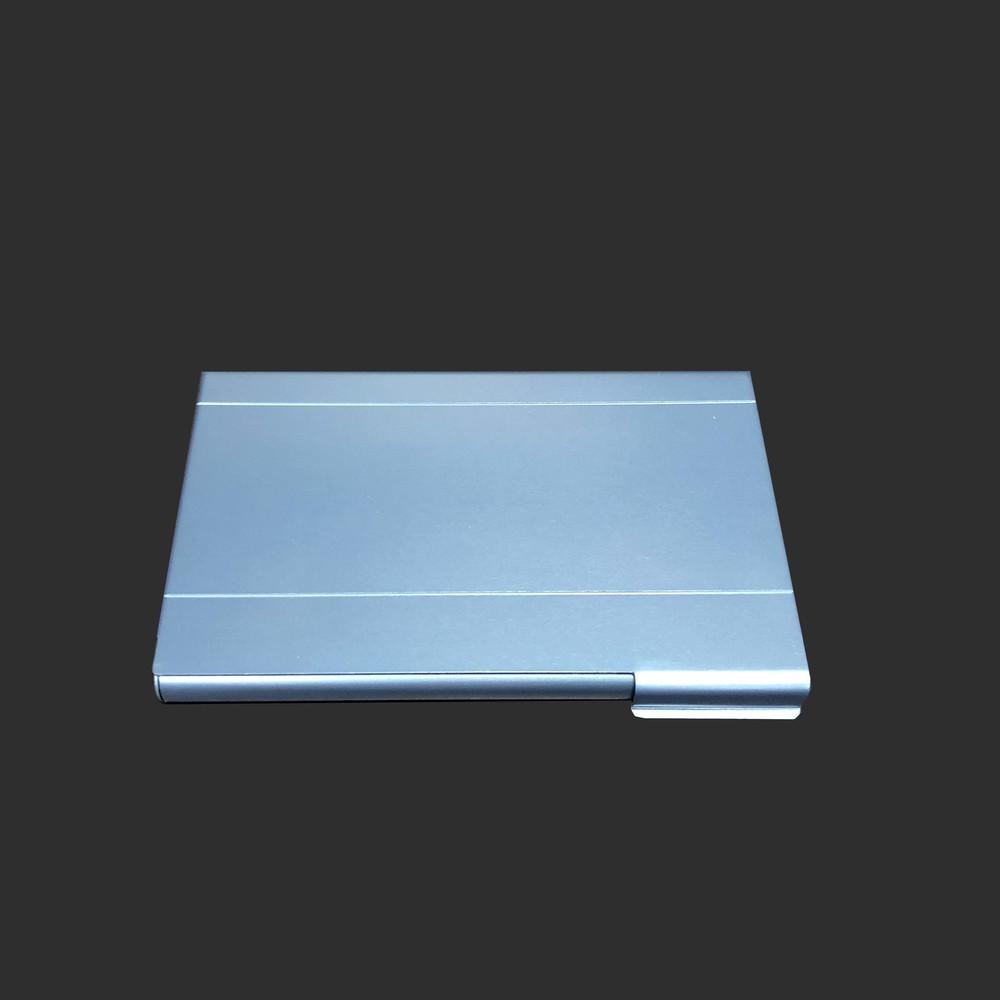 Metal blue  Business  Name Card Holder