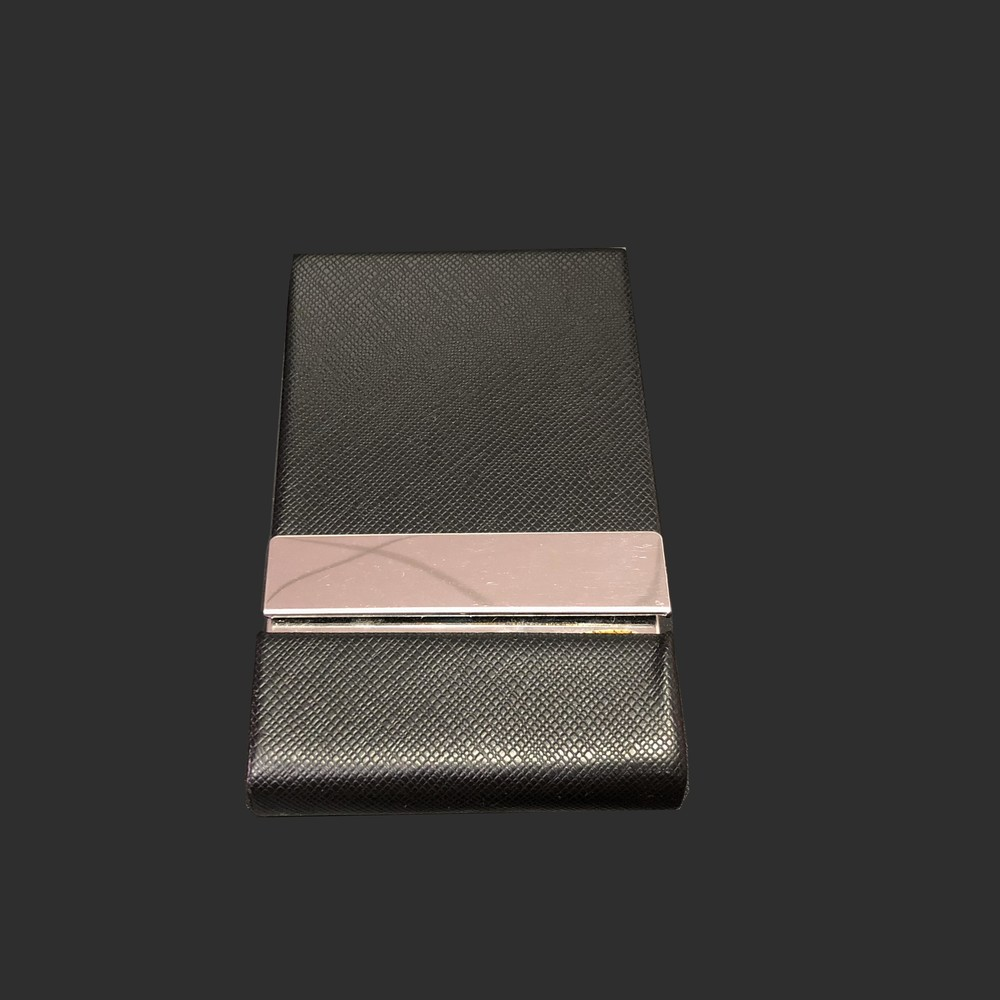 Top Quality metal PU Leather Magnetic Shut Business Card