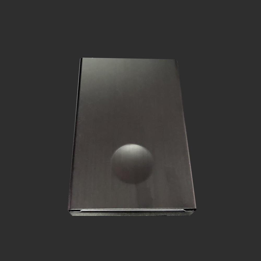 High-end aluminum card holder
