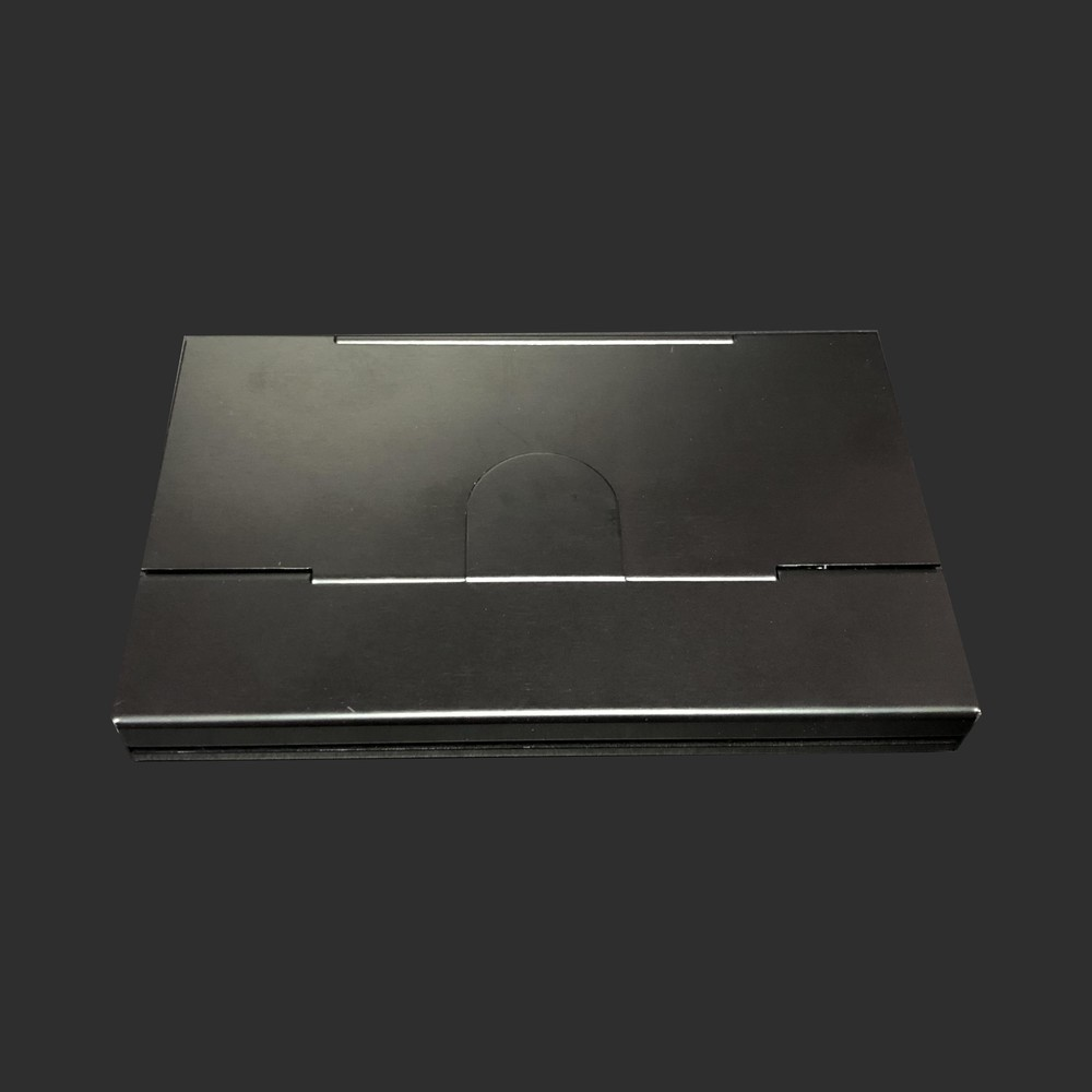 High-end aluminum card holder