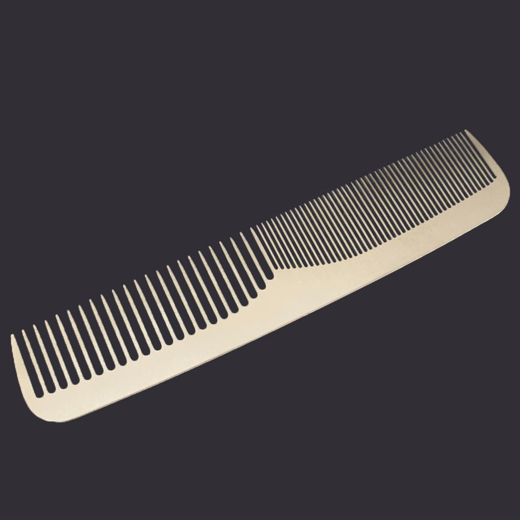 metal comb for promotion