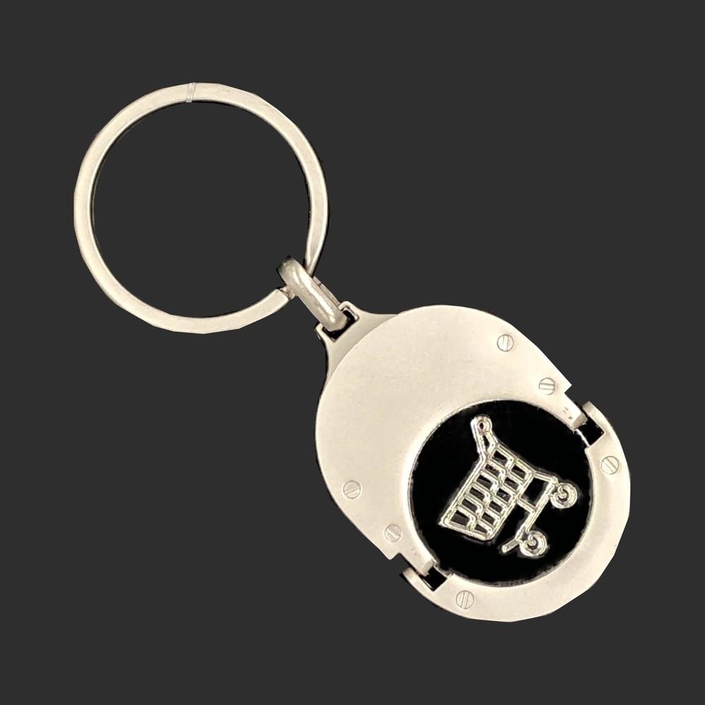 Custom trolley coin  keychain