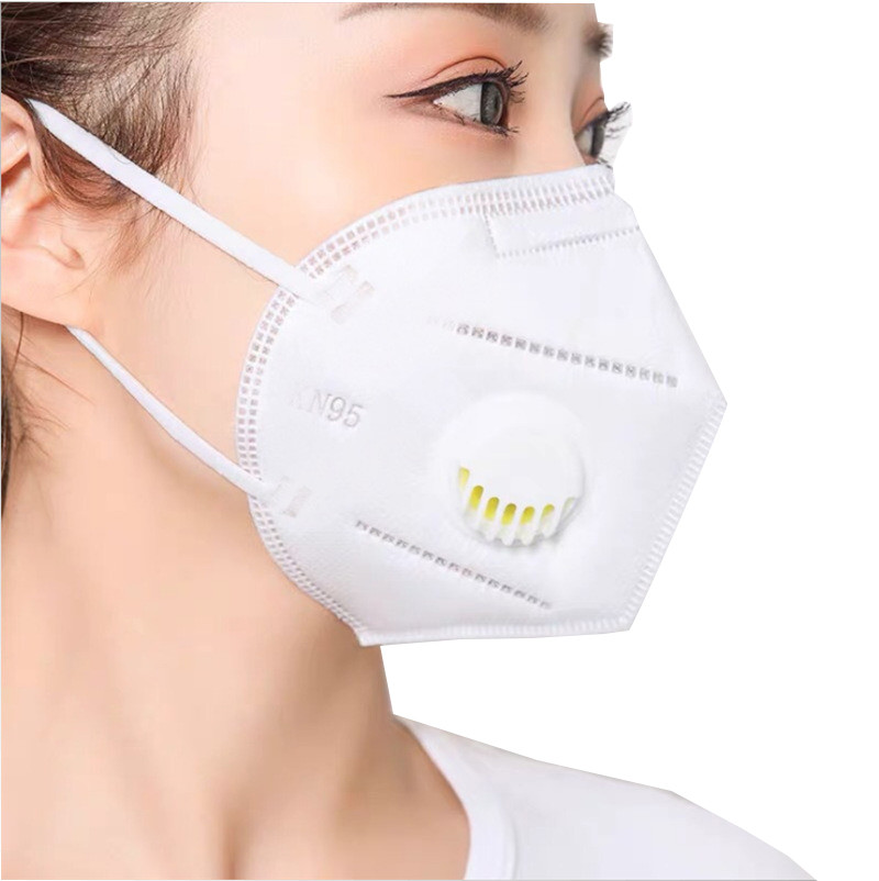 Protective Face Mask with Valve