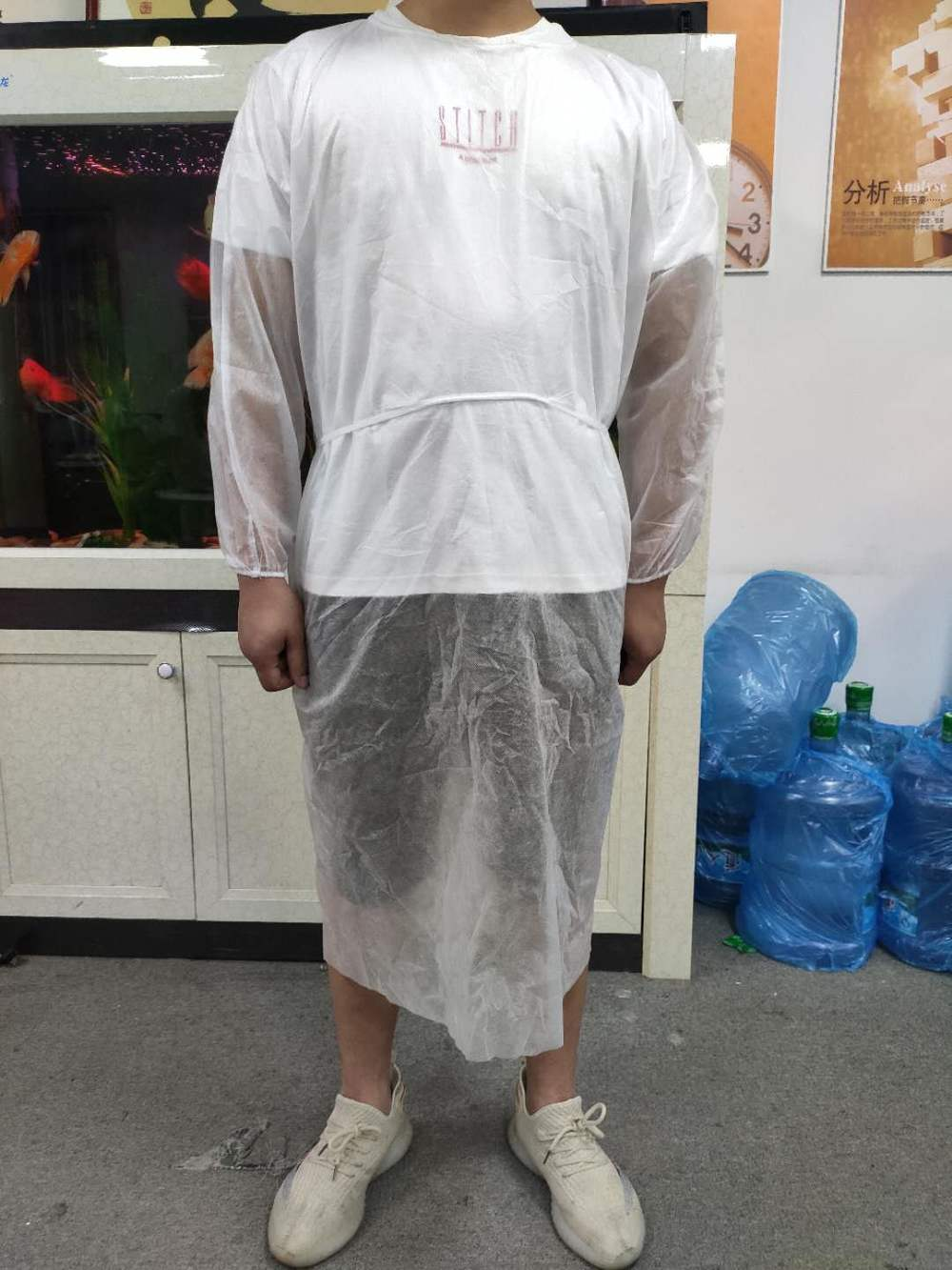 Non-Medical Protective Isolation Gown