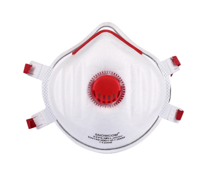 FFP3 Cup Protective Face Mask(with valve)