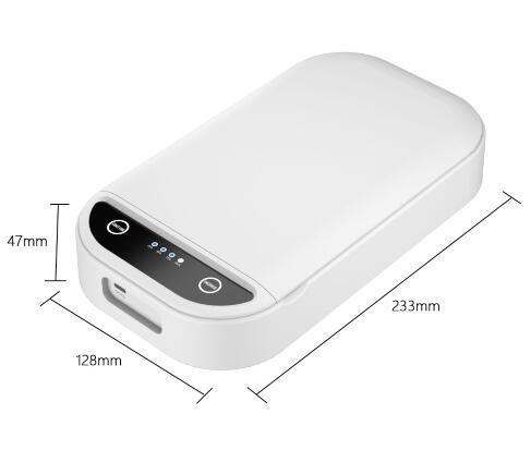 Portable UV Light Cellphone Smart Phone Sterilizer Sanitizer with USB