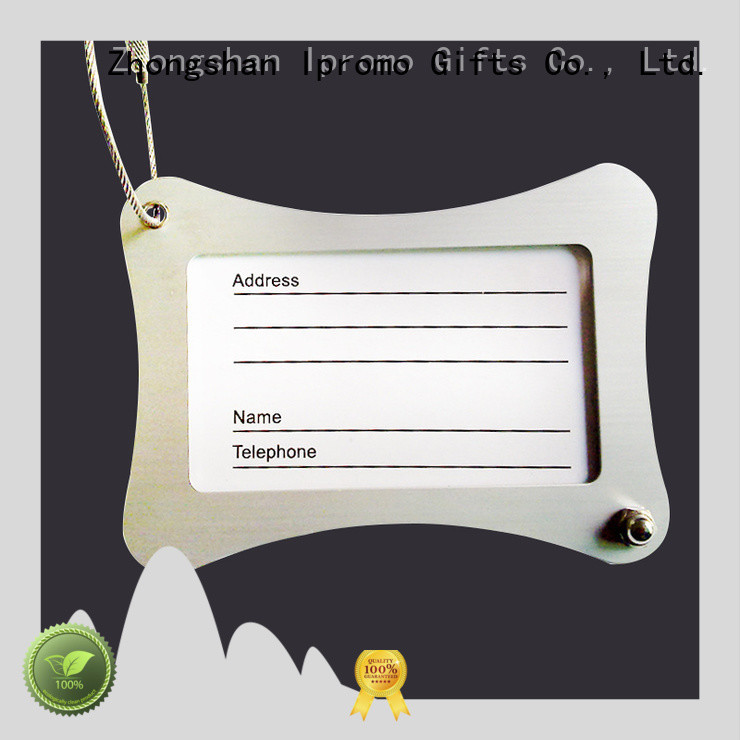 fine-quality promotional luggage tags supplier for memento