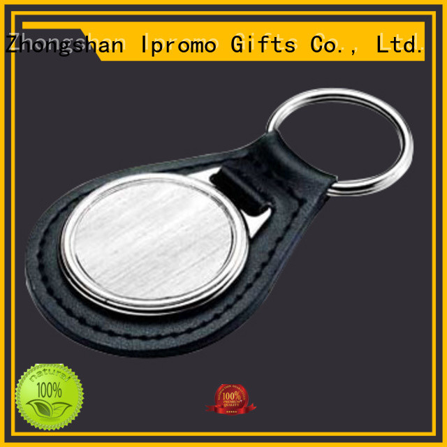 Ipromo genuine leather keychain for-sale for activity