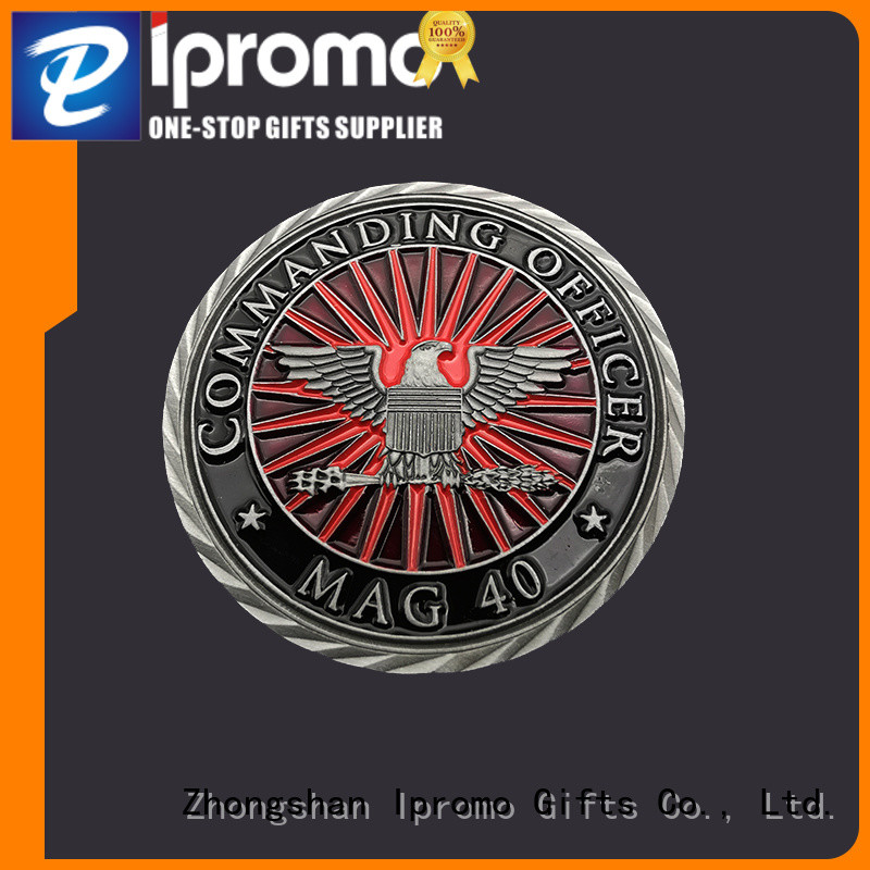 Ipromo bronze cool challenge coins free design for party