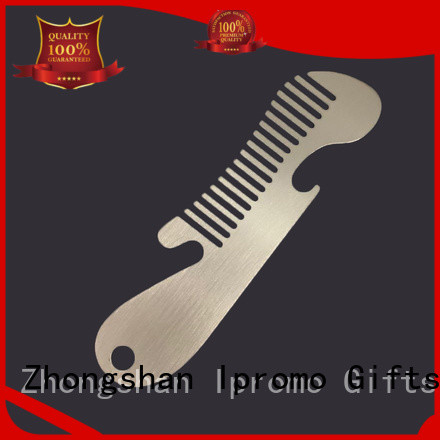 Ipromo metal lice comb marketing for souvenir