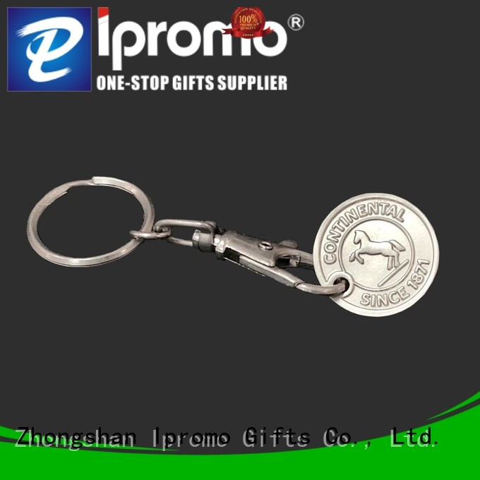 Ipromo shopping trolley coin factory price for gifts