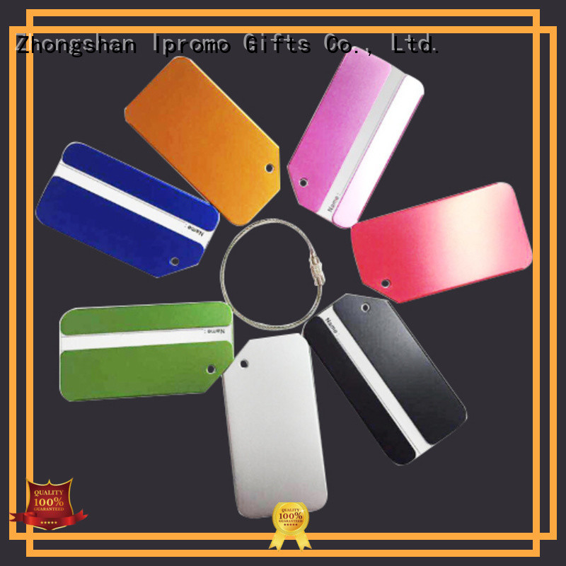 Ipromo first-rate metal bag tags check now for memento