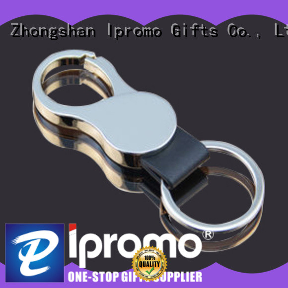 Ipromo multi function leather keychain kit various sizes for party