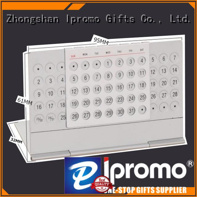 Ipromo fine-quality metal flip calendar assurance for memento