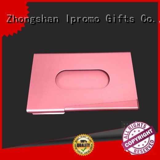 Ipromo high-quality mens leather card holder marketing for activity